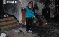 Người phụ nữ đốt ghế dọa bạn trai không ngờ cháy cả nhà