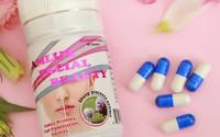 Viên nang Amlux Facial Beauty của Công ty Obiuty Việt Nam được quảng cáo như thuốc chữa bệnh