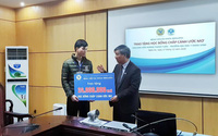 MEDLATEC trao học bổng cho sinh viên nghèo trường Đại học Y khoa Vinh