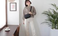 Dễ mặc và chắc chắn sẽ đẹp chính là bộ đôi áo len + quần jeans với 4 cách mix&match này