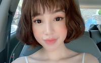 Elly Trần bỗng khác lạ với mái tóc ngắn, khuôn mặt như búp bê