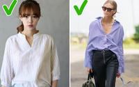 7 mẹo dễ như ăn kẹo giúp chị em thoải mái mặc đồ oversize mà không lo bị