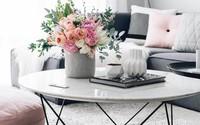 14 cách làm đẹp phòng khách với hoa hân hoan đón mùa Xuân đang về