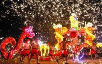 Thế giới tưng bừng đón năm mới Mậu Tuất