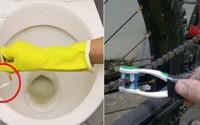 Bàn chải đánh răng cũ nếu không tận dụng làm những việc này thì quá hoang phí