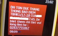 Tranh cãi chuyện trường đại học gửi tin nhắn báo điểm cho phụ huynh