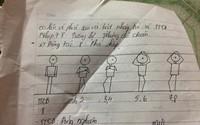 Nữ sinh cấp 3 chép phạt môn thể dục bằng tranh vẽ
