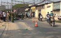 Cô gái 20 tuổi chết thảm dưới bánh xe tải trên đường phố Sài Gòn