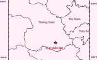 Lần đầu tiên động đất 3,0 độ richter xảy ra tại huyện Thường Xuân (Thanh Hóa)