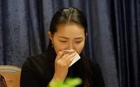 Phan Như Thảo nghẹn ngào khẳng định trong họp báo: 'Chỉ có duy nhất một người có đủ động lực hại mình'