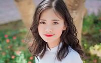 Nữ sinh xứ Nghệ xinh xắn, học giỏi, hát dân gian ngọt ngào