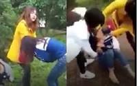 Phẫn nộ việc một nữ sinh bị đánh, lột áo giữa ban ngày