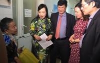 Bộ trưởng Nguyễn Thị Kim Tiến thăm, làm việc với y tế Hải Dương