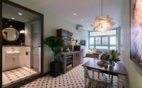 Nhà tập thể 36 m2 tối tăm, bất tiện đủ bề như rộng gấp đôi sau cải tạo