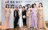 Dàn mỹ nhân Việt đọ sắc cùng Hoa hậu Thế giới 2013 và Hoa hậu Hoàn vũ 2015