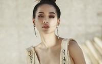 Khánh Linh The Face khoe dáng với váy áo xuyên thấu của Công Trí
