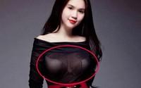 Mang danh nữ hoàng nội y nhưng Ngọc Trinh lại thường gặp vấn đề với áo lót