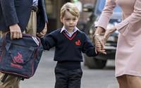 Hoàng tử George không được phép làm điều này ở trường
