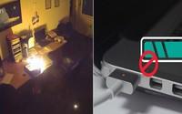 Cẩn thận laptop nổ tung, thiêu cháy cả căn phòng chỉ vì thói quen không tắt nguồn