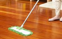 """Cả tuần không cần lau mà sàn nhà vẫn sạch bong nhờ vài mẹo """"cực độc"""" ít người biết"""