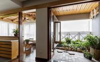 Căn chung cư tầng 26 ở Hà Nội được thiết kế như nhà vườn kiểu Nhật