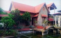 Dân mạng phát cuồng ông bố Ninh Bình 5 năm miệt mài xây nhà cho vợ con không thuê thợ