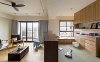 Cải tạo căn hộ đổ nát thành không gian tối giản và ấm áp chuẩn phong cách Nhật