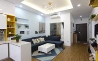 Căn hộ 75m² với điểm nhấn nghệ thuật từ ánh sáng có chi phí rẻ đến bất ngờ ở Hoàng Mai, Hà Nội