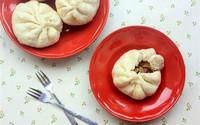 Bánh bao nhân sốt thịt quay món ngon cho bữa sáng