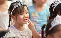 Các bé hoá công chúa, hoàng tử trong ngày chia tay trường mẫu giáo