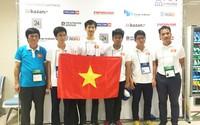 Việt Nam giành 7 huy chương Olympic Tin học châu Á