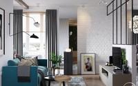 Căn hộ 3 phòng ngủ theo phong cách Scandinavian đẹp như một bài thơ
