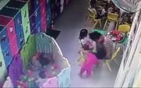 Cô giáo mầm non ở Sài Gòn tát bé gái liên tiếp