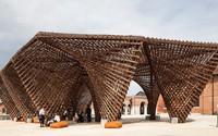 Công trình tre của KTS Việt Nam trưng bày ở Italy