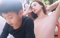 Hà Hồ xác nhận chuyến đi của hai mẹ con tại Mỹ chỉ có 'những người bạn'