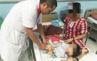 Bé gái 3 tuổi bất ngờ phát hiện u nang buồng trứng