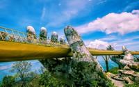 """Cầu Vàng hay """"giấc mơ trưa kỳ diệu"""" của du lịch Đà Nẵng"""