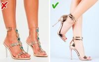 8 kiểu giày dépchị em cứ tưởng là đẹp nhưng có thể khiến họ mất điểm hoàn toàn