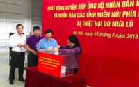 Bộ Y tế quyên góp ủng hộ nhân dân Lào và người dân các tỉnh miền núi phía Bắc bị thiệt hại do mưa lũ