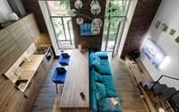 Biến căn phòng 35m² trở thành căn hộ nhỏ 49m² thoáng đãng chỉ nhờ 1 bí quyết