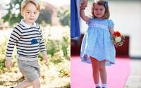 Giá trị thương hiệu triệu đô của 2 con công nương Kate Middleton
