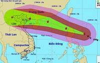 Siêu bão Mangkhut có thể khiến, 27 tỉnh/thành bị ảnh hưởng