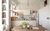 Căn hộ đẹp bình yên với nội thất nhỏ gọn cùng cách sắp xếp đồ thông minh của vợ chồng trẻ