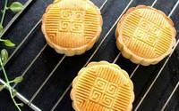 Tự làm bánh nướng nhân đậu xanh thơm bùi đón Trung thu