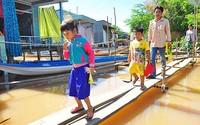 Bộ GD&ĐT cho phép học sinh vùng lũ nghỉ học