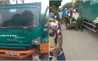 Va chạm với xe tải chạy cùng chiều, mẹ và con gái 2 tuổi tử vong thương tâm
