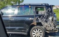 Diễn biến mới nhất vụ tài xế Lexus biển tứ quý bị xe tải đâm tử vong