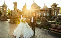 Hé lộ thiên đường ảnh cưới đẹp mê hồn cách Hà Nội chỉ 1,5 giờ lái xe