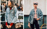 Sợ diện blazer già, áo khoác denim chính là lựa chọn thay thế cực trẻ trung dành cho chị em công sở