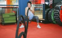 Thai phụ Sài Gòn tập gym, nâng tạ đến ngày sinh con